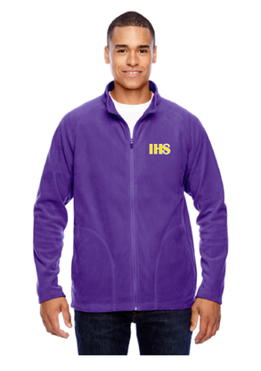 Picture of Iowa High School Purple Fleece Jacket