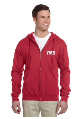 Picture of Vinton Middle School Full Zip Sweatshirt