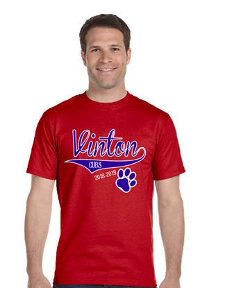Picture of Vinton Middle School Front Only T-Shirt