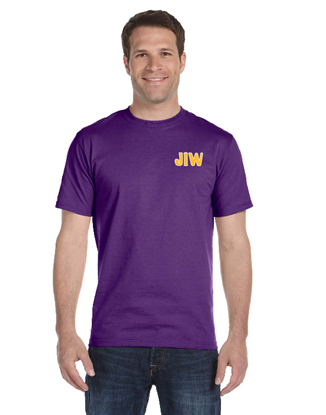 Picture of J.I. Watson Elementary Purple Short Sleeve T-Shirt