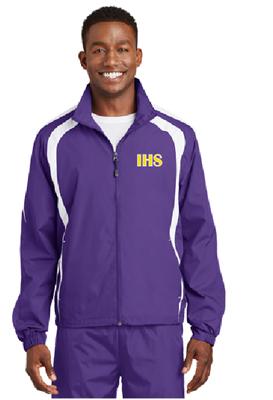 Picture of Iowa High School Purple Wind Jacket
