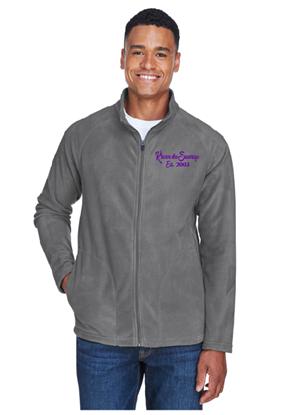 Picture of Krewe du Sauvage Grey Fleece Jacket