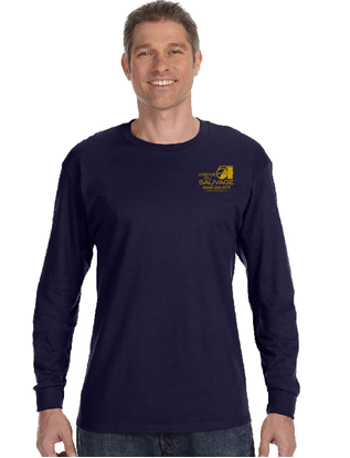 Picture of Krewe Du Savage Navy Long Sleeve T-Shirt