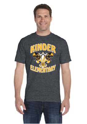 Picture of Kinder Elementary Grey Short Sleeve T-Shirt