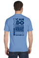 """Picture of St. Philip Neri """"I Can Do All Things..."""" Short Sleeve T-Shirt"""