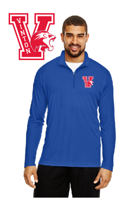 Picture of Vinton High School 1/4 Zip Jacket