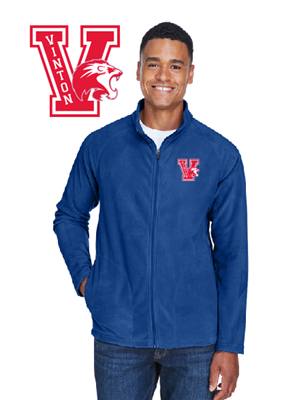 Picture of Vinton High School Full Zip Fleece Jacket