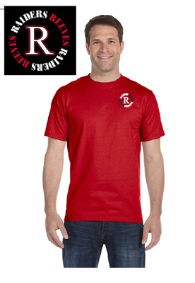 Picture of Reeves High School Red Short Sleeve T-Shirt (PreK-5th)