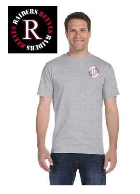 Picture of Reeves High School Grey Short Sleeve T-Shirt (6th-8th)