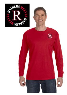 Picture of Reeves High School Red Long Sleeve T-Shirt (PreK-5th)