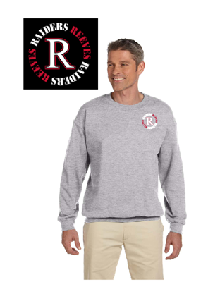 Picture of Reeves High School Grey Sweatshirt (6th-8th)