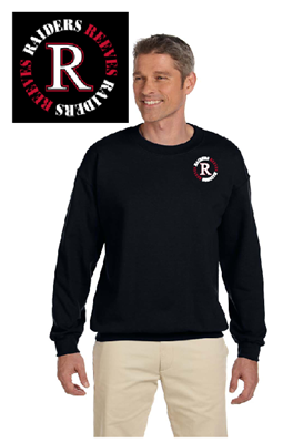 Picture of Reeves High School Black Sweatshirt (9th-12th)