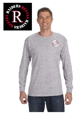 Picture of Reeves High School Grey Long Sleeve T-Shirt (6th-8th)