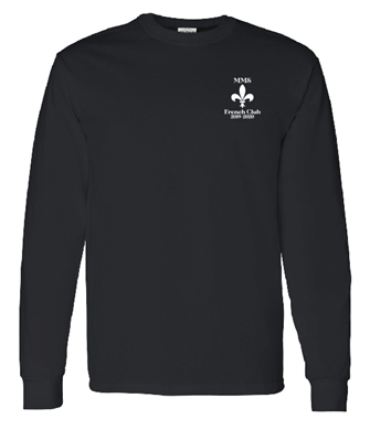 Picture of Maplewood Middle Long Sleeve French Club T-Shirt
