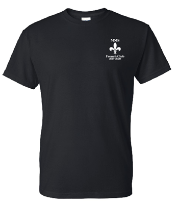 Picture of Maplewood Middle Short Sleeve French Club T-Shirt