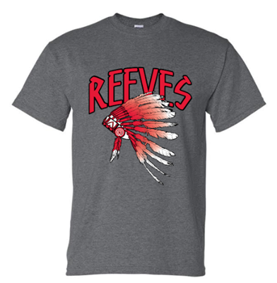 Picture of Reeves High School Short Sleeve Spirit Shirt