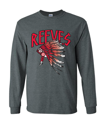 Picture of Reeves High School Long Sleeve Spirit Shirt