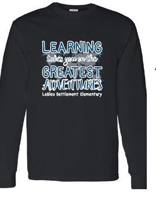 Picture of LeBleu Settlement Elementary Black Long Sleeve T-Shirt
