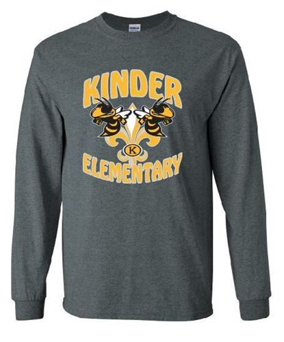 Picture of Kinder Elementary LONG SLEEVE SPIRIT SHIRT